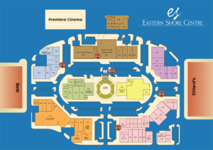 Map of Eastern Shore Centre