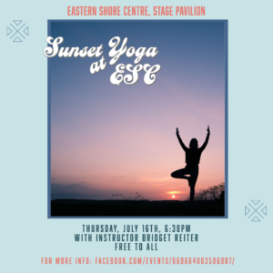 Sunset Yoga with Bridget Reiter