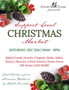 Support Local Christmas Market at Eastern Shore Centre