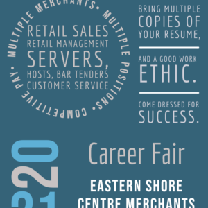 Job Fair at Eastern Shore Centre